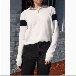 Brandy Melville Casey sweater - white